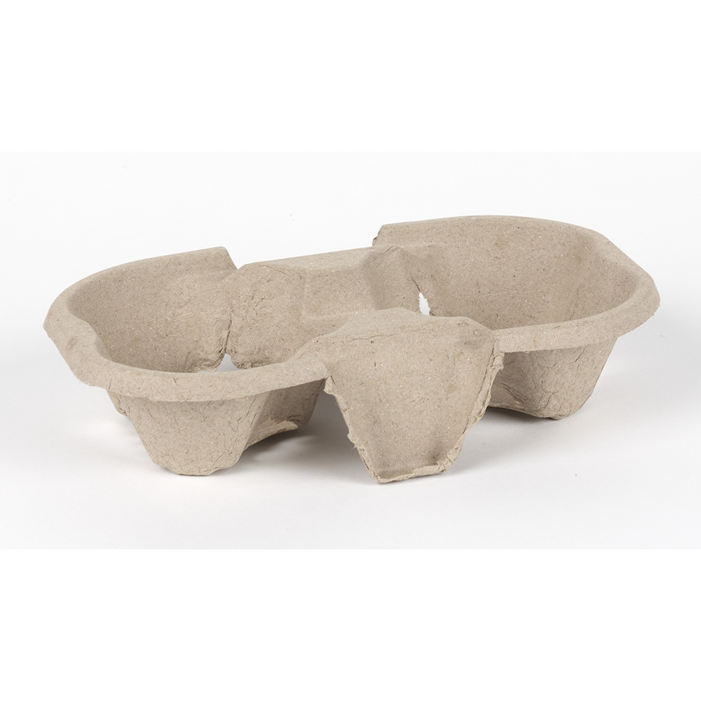 Moulded Pulp Fibre 2 Cup Carriers