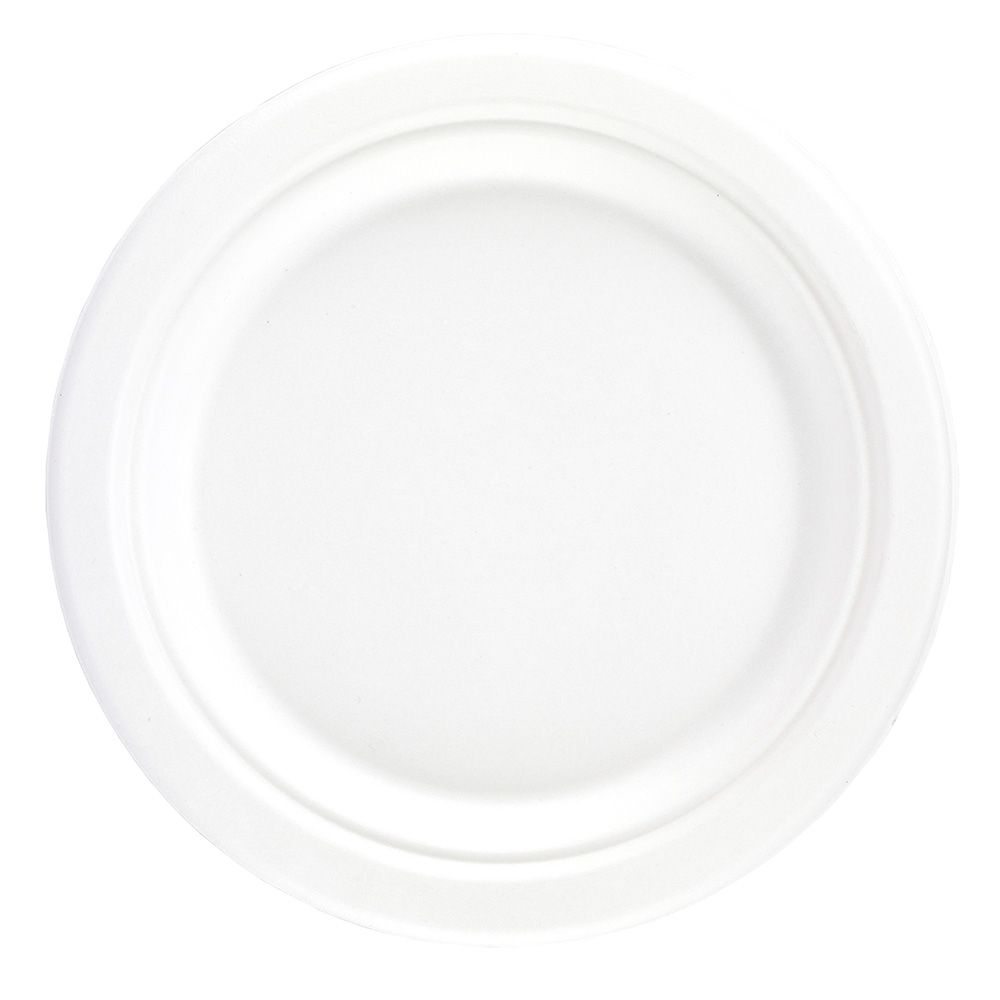 7'' Bagasse Round Plate